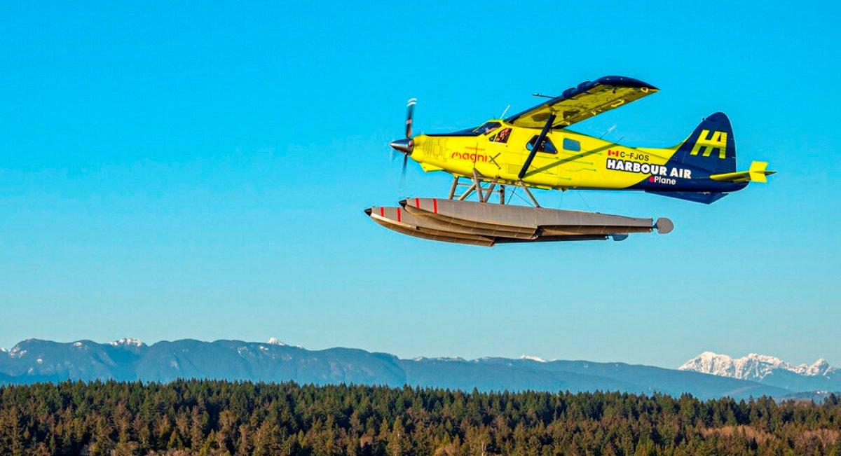 eBeaver on flight test