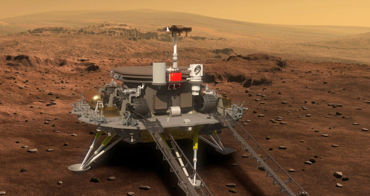 Zhurong rover