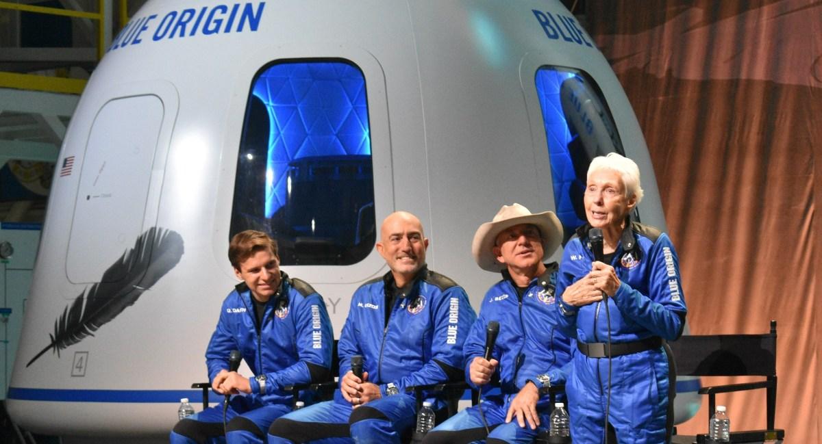 New Shepard crew