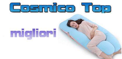 Homyl Cuscino A Forma di U per maternit/à Supporto per Il Sostegno del Corpo Cuscino//Federa Cuscino Bianco 130x70cm 8 Colori Disponibili