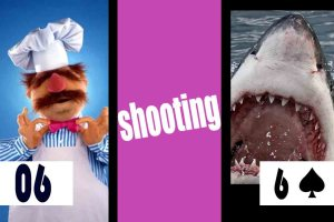 Swedish Chef Shooting a Shark
