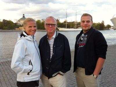 Mamma, pappa och L.