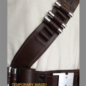the mandalorian belt and shoulder