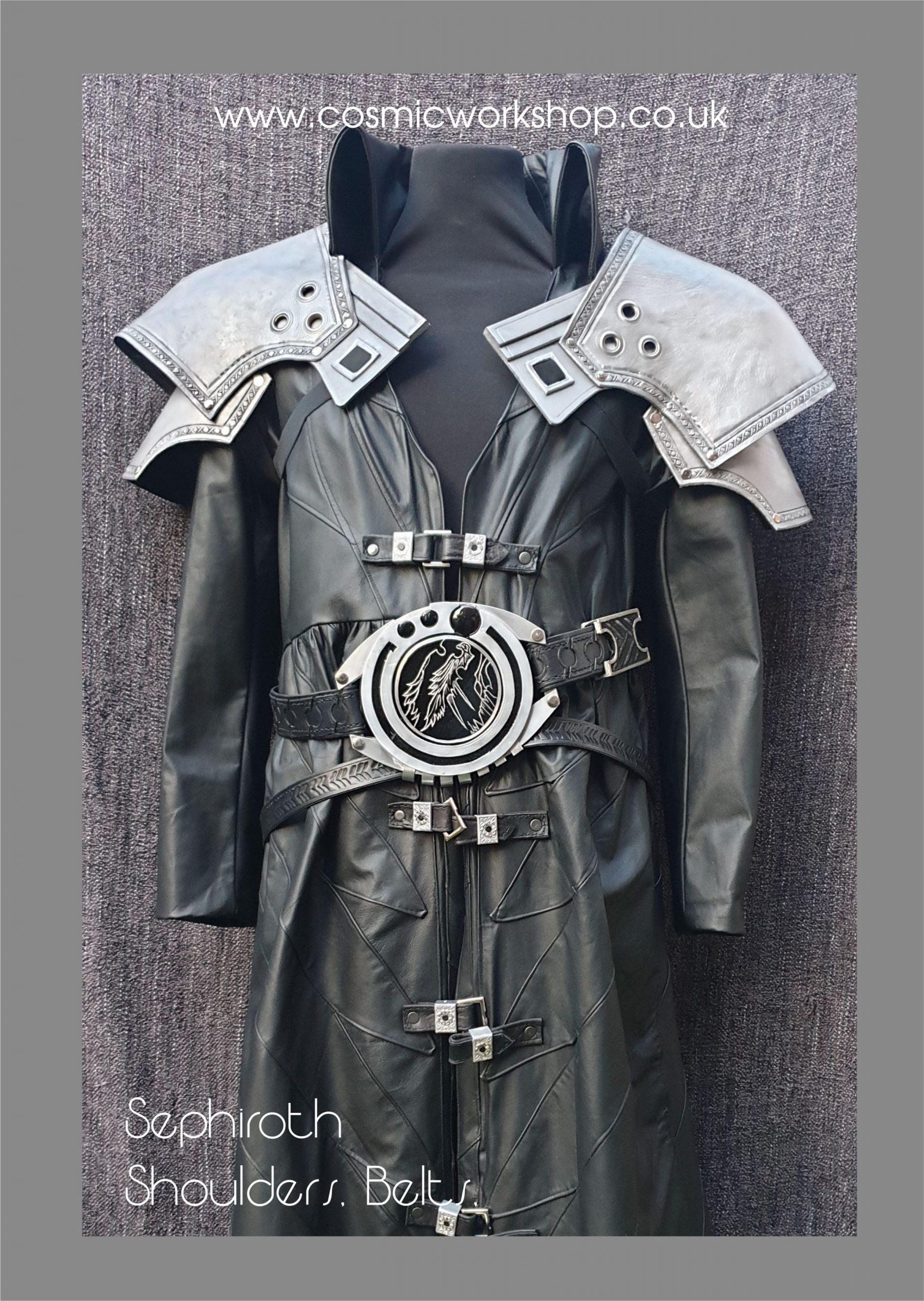 sephiroth armour final fantasy 7 remake