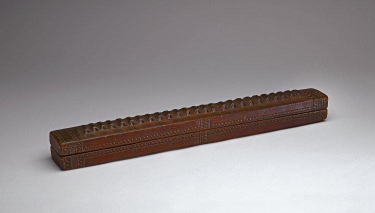 wooden box benin