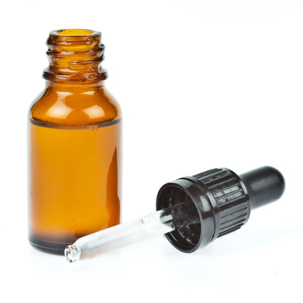 private label beard oil with dropper