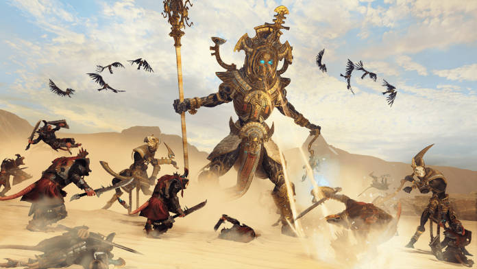 Total War Warhammer 2 DLC Rise of the Tomb Kings - Hiérotitan