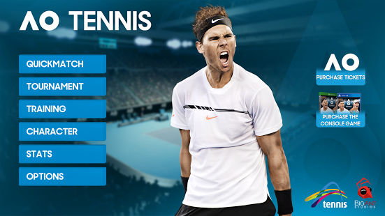 AO Tennis - Mobile iOS Android