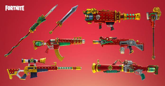 Fortnite Patch - Mise à jour 2.5.0 du 15 février - Sauvez le monde - Armes du dragon