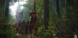 Kingdom Come Deliverance - Test - chevalier dans la forêt