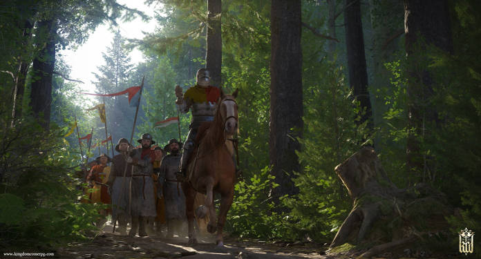 Kingdom Come Deliverance - Test - chevalier dans la forêt