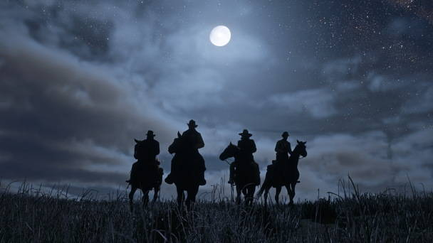 Red Dead Redemption 2 - Toutes les infos, date, trailer - nuit