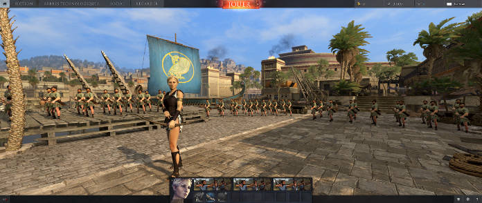 Total War Arena - beta ouverte - archer