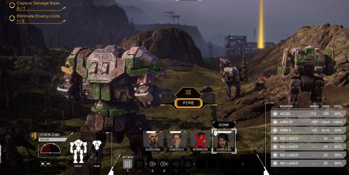 BattleTech Test et Avis - mechs