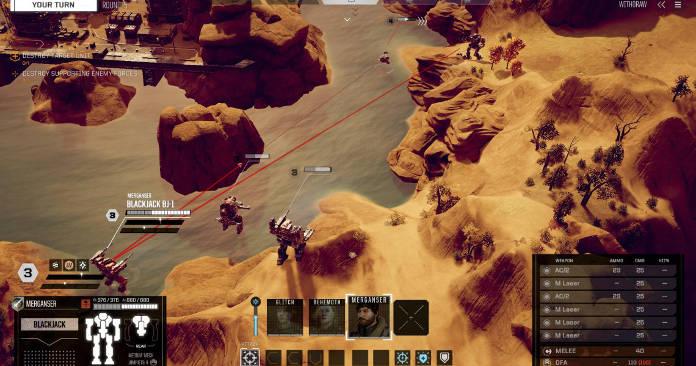 BattleTech Test et Avis - strategie et tactique