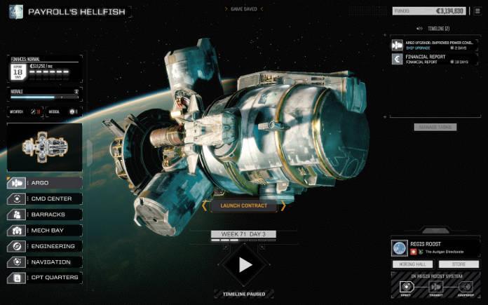 BattleTech Test et Avis - vaisseau