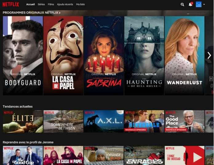 Abonnement Netflix Guide Prix - Tarif forfait
