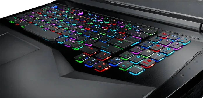 PC Portable Gamer - Les meilleurs Ordinateurs Portables Gamer 2018 - MSI GT75VR 7RF Titan - clavier