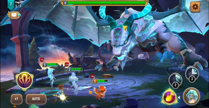 Test - Might & Magic Elemental Guardians - L'univers M&M sur mobile - Combat 2