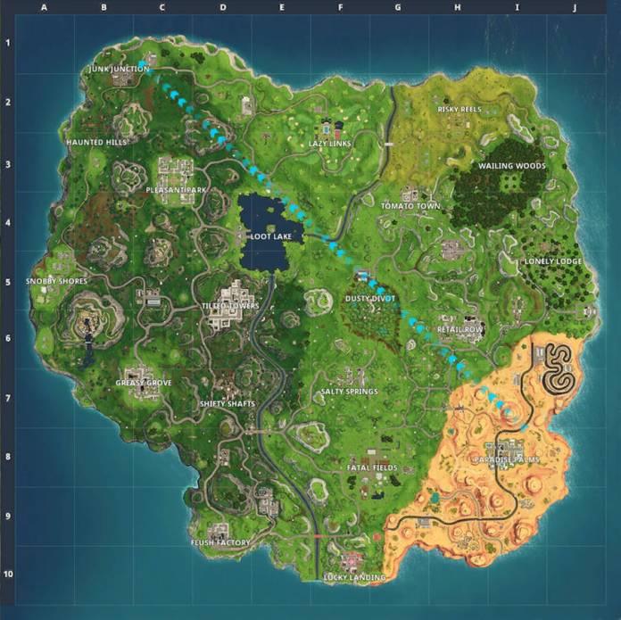 Fortnite 5.0 - La nouvelle carte de la saison 5
