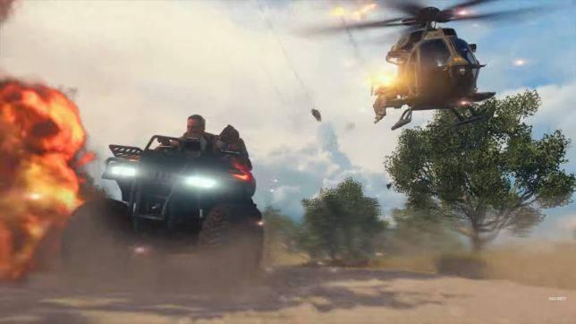 CoD Black Ops 4 Blackout -vehicule - Gameplay