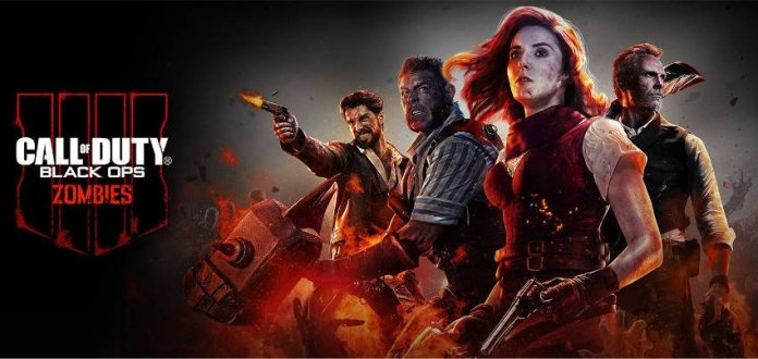 Call of Duty Black Ops 4 - Mode Zombies - personnages