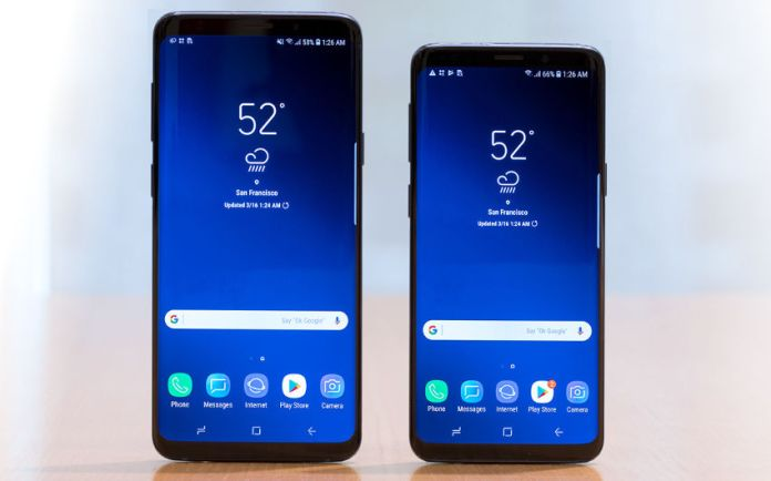 Meilleurs Smartphones Android 2018-Samsung Galaxy S9