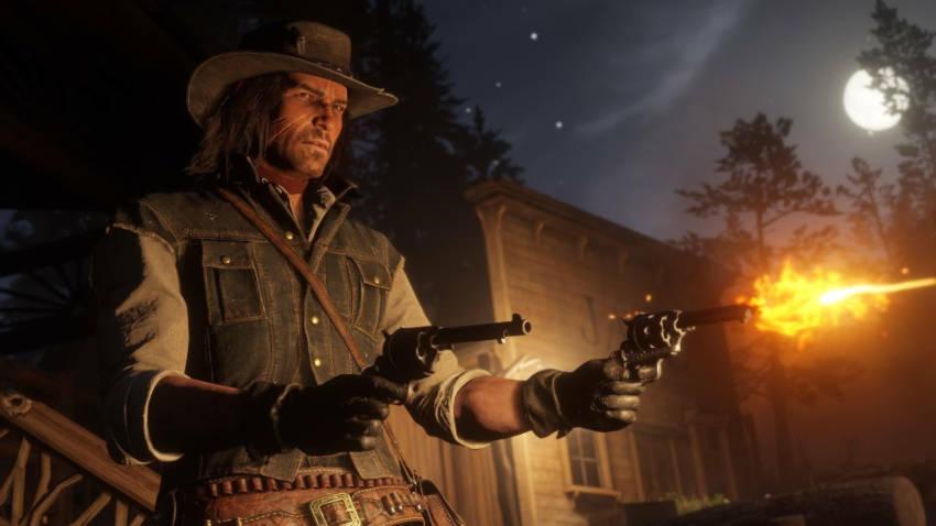 Le double revolver de RDR2 ou double holster, double canon scié