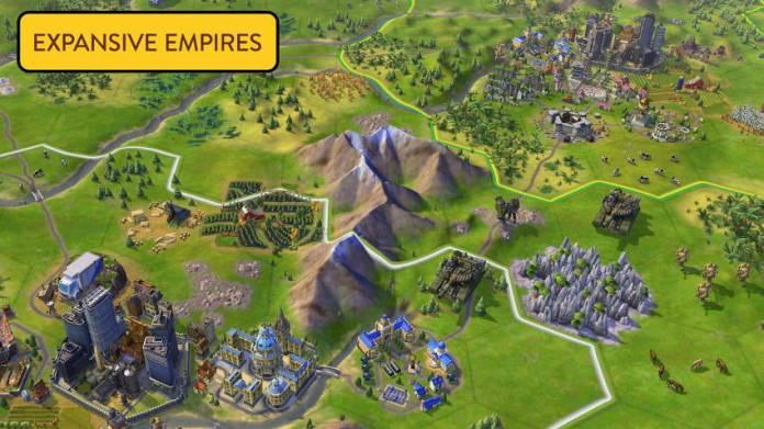 empire - civilization 6 iPhone
