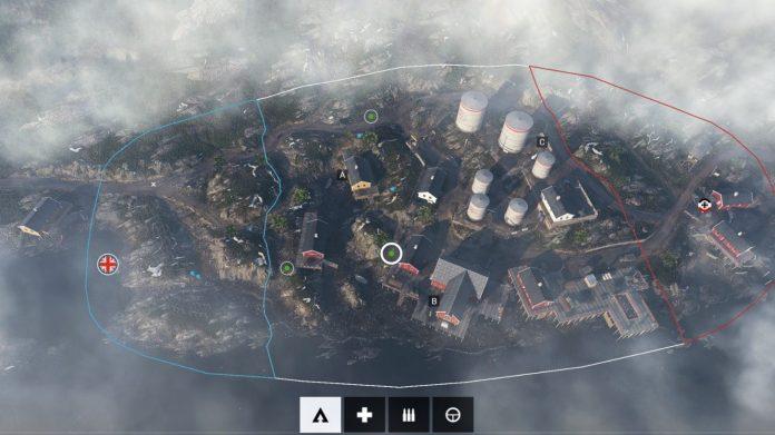 îles de Lofoten Usine - carte BF5