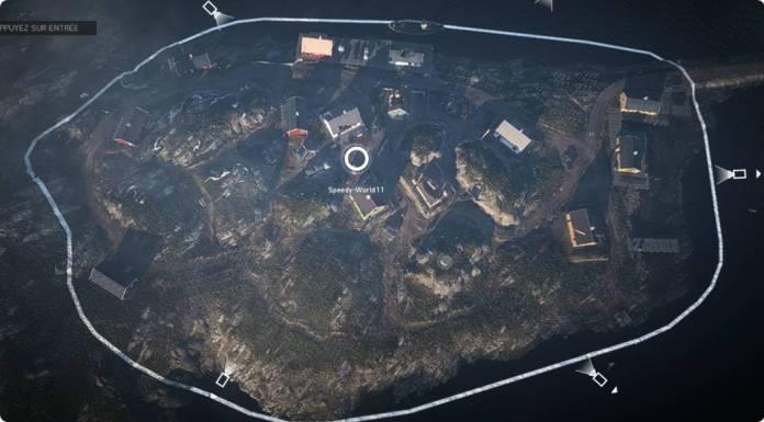 îles de Lofoten - carte BF5