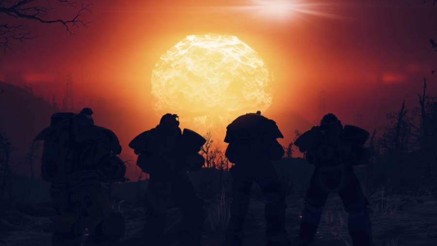 Fallout 76 - Ils lancent 3 bombes nucléaires à la fois, le serveur crash