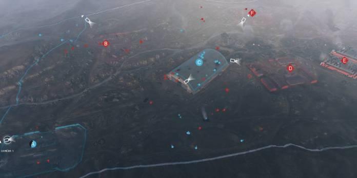 La carte de l'aérodrome de Battlefield 5