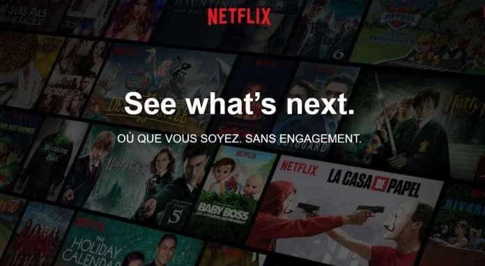 Netflix à moins de 4 € mais pas pour la France!