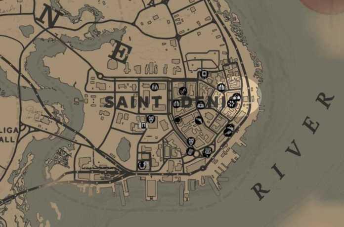 RDR2 - Receleur Saint Denis