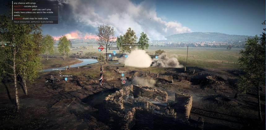 Battlefield 5 - Panzerstorm - champ de bataille