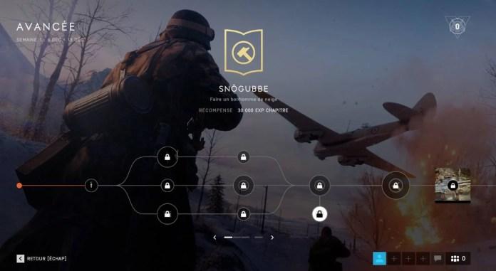 Battlefield 5 - Snetiers de la guerre - Bonhomme de neige - Snögubbe