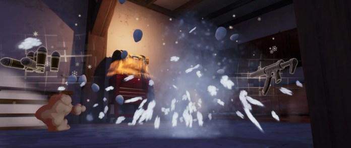 3 explosion grenade gelante Fortnite