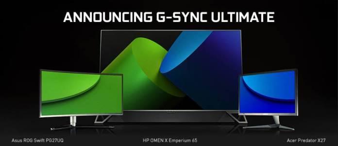 Nvidia G-Sync Ultimate : le remplaçant de la norme G-Sync HDR