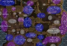 Apex Legends Carte et Niveau de Butin - Les zones a choisir