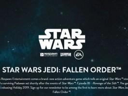 Respawn présentera son jeu Star Wars le 13 avril