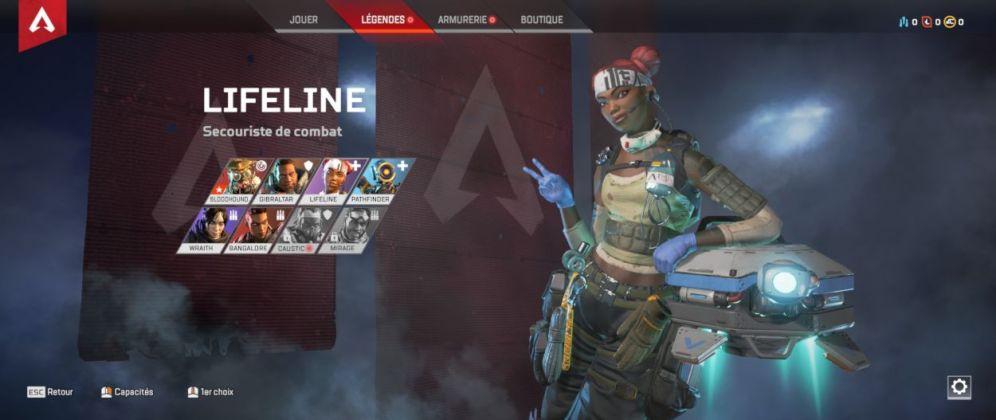 personnage LifeLine - Apex Legends