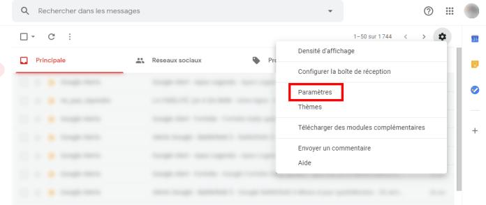 Comment changer le nom Gmail