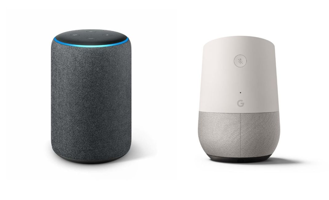 Comparatif - Alexa vs Google Home