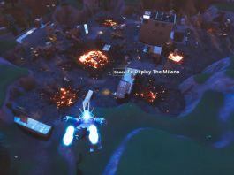 Fortnite - Tilted Towers et Retail Row détruits, une arme retiré