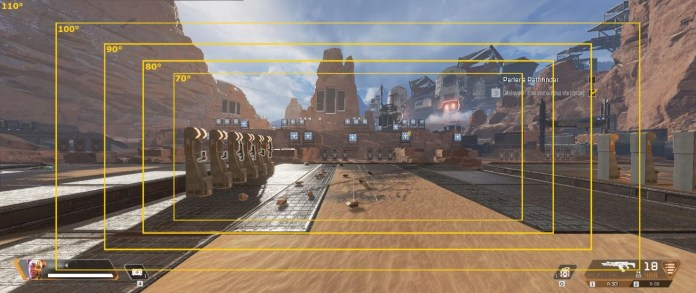 Champ de vision - paramétres graphique APEX LEGENDS - FOV