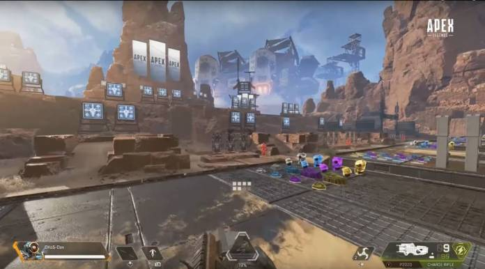 Le nouveau mode Entraînement d'Apex Legends