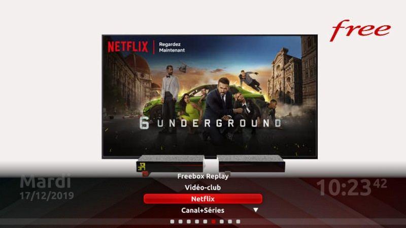 Netflix enfin disponible sur Freebox Révolution, et la mini 4K avant