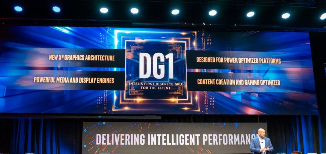 Intel a présenté son premier GPU DG1 au CES 2020
