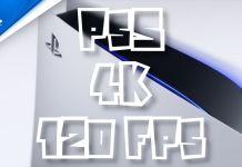 PS5 4K 120 FPS limité